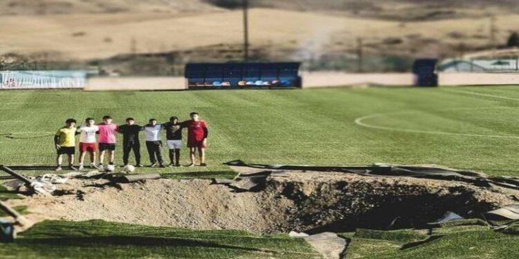Photo of Մարտունու արկակոծված մարզադաշտը կվերաբացվի