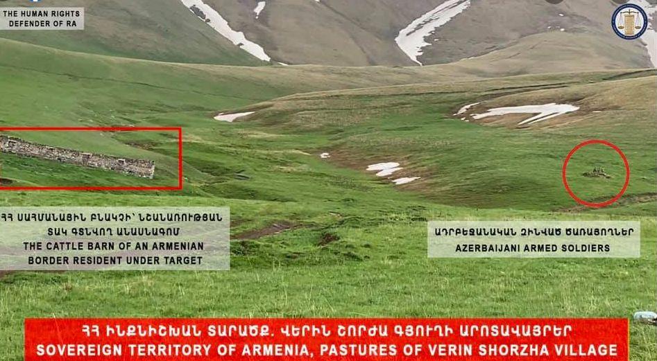 Photo of Незаконно находящиеся на территории Армении азербайджанцы угрожали армянским пастухам: омбудсмен
