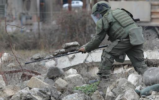 Photo of Խաղաղապահները Լեռնային Ղարաբաղում ականազերծել են շուրջ 2 064 հա տարածք