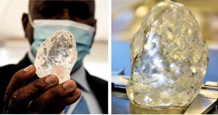 Photo of Բոտսվանայում հայտնաբերվել է աշխարհի 3-րդ ամենամեծ ադամանդը