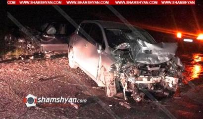 Photo of Խոշոր ավտովթար Արագածոտնի մարզում. բախվել են Mercedes-ն ու Nissan-ը. վարորդները տեղափոխվել են հիվանդանոց