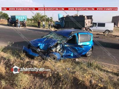 Photo of Խոշոր ավտովթար Արագածոտնի մարզում. բախվել են Renault-ը և քարով բարձված ЗИЛ-ը. բժիշկները պայքարում են վիրավորների կյանքի համար