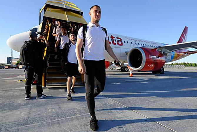 Photo of Сборная Армении по футболу прибыла в Швецию