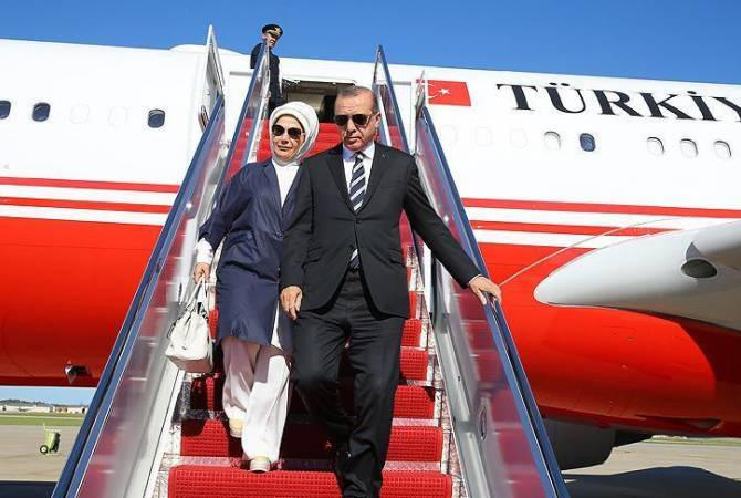 Photo of Էրդողանը ժամանել է Բաքու
