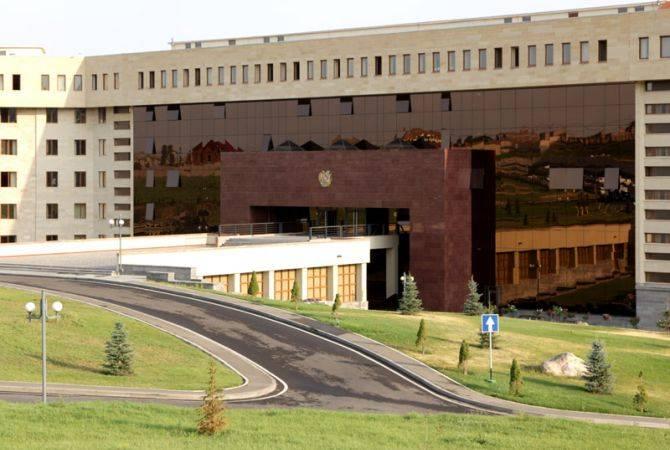 Photo of МО Армении опровергает распространяемую азербайджанскими СМИ информацию об обстреле