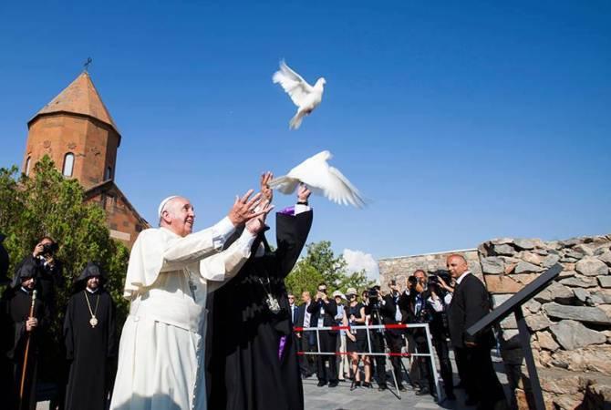Photo of Папа напомнил о своем визите в Армению