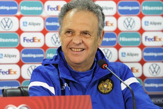 Photo of ՀՖՖ-ն երկարաձգել է պայմանագիրը Հայաստանի հավաքականի գլխավոր մարզիչ Խոակին Կապարոսի հետ