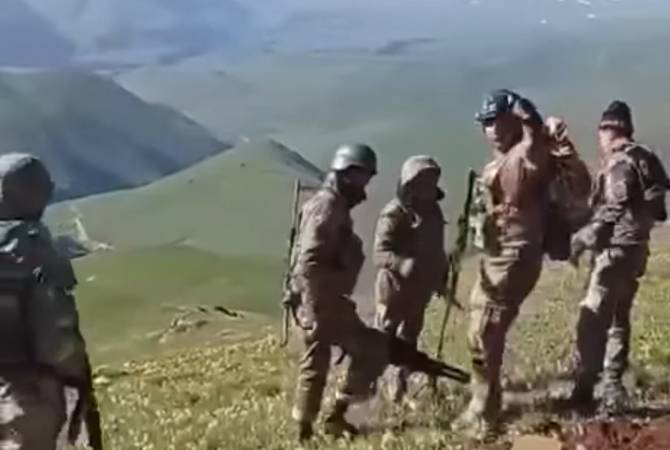 Photo of ՀՀ ՊՆ-ն՝ հայ և ադրբեջանցի զինծառայողների միջև տեղի ունեցած միջադեպի տեսանյութի մասին