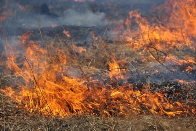 Photo of Հայ-ադրբեջանական սահմանի Տավուշի մարզի հատվածի չեզոք գոտում hրդեհ է բռնկվել