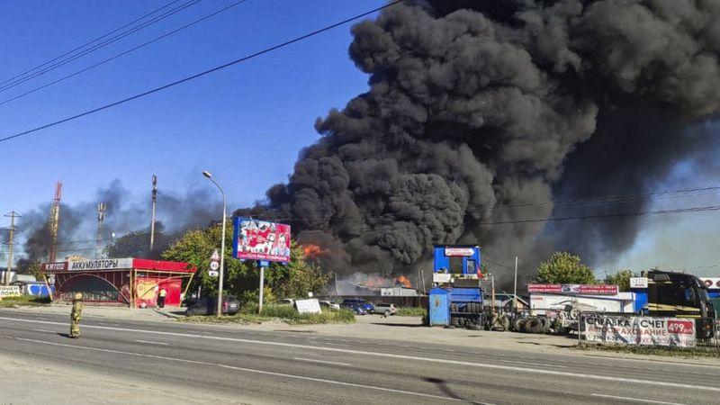 Photo of В Новосибирске взорвалась автозаправочная станция. Пострадали более 25 человек