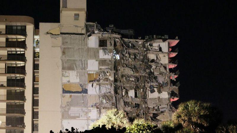 Photo of Մայամիում 12 հարկանի շենքի մի մասը փլվել է. կա առնվազն 1 զոհ, 8 վիրավոր. բնակիչներին տարհանում են