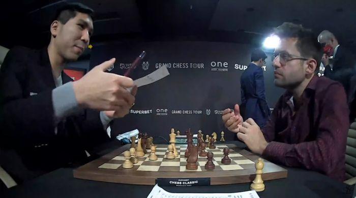 Photo of Grand Chess Tour․ Левон Аронян сыграл вничью с Уэсли Со