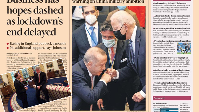 Photo of Թուրք լրագրողը մեկնաբանել է Բայդենի առաջ խոնարհված Էրդողանի լուսանկարը