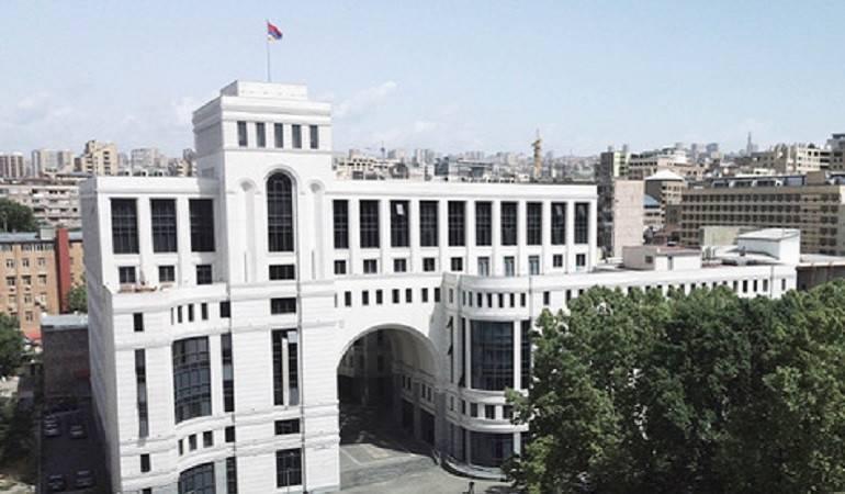 Photo of Предложения Эрдогана, озвученные в парламенте Азербайджана, лицемерны и имеют дезориентирующий характер: МИД Армении