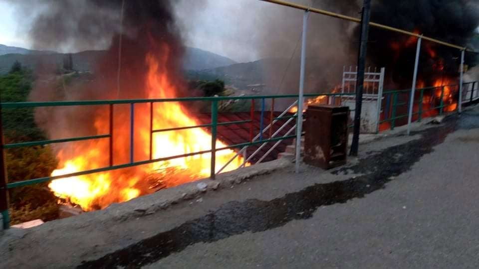 Photo of Крупный пожар в Степанакерте: сгорело два дома