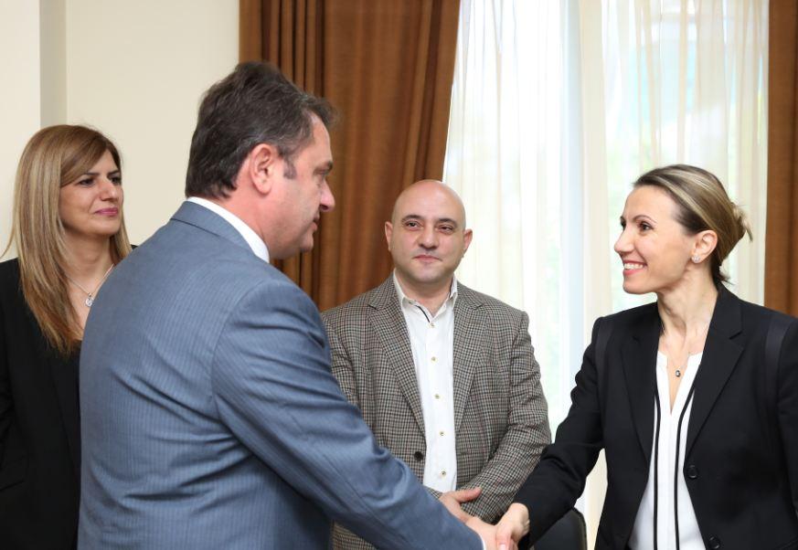 Photo of Հայկ Չոբանյանն ընդունել է ՀՄՄ ԱՊՀ հարցերով տարածաշրջանային ստորաբաժանման տնօրեն Նատալիա Մոչուին