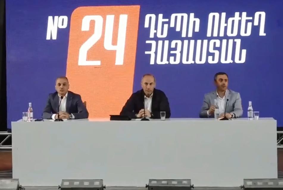 Photo of Роберт Кочарян: Мы готовы вернуть Армении репутацию Закавказского тигра
