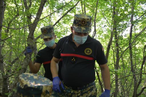 Photo of Спасатели Арцаха продолжают поиски останков в Гадрутском районе и в направлении села Матагис
