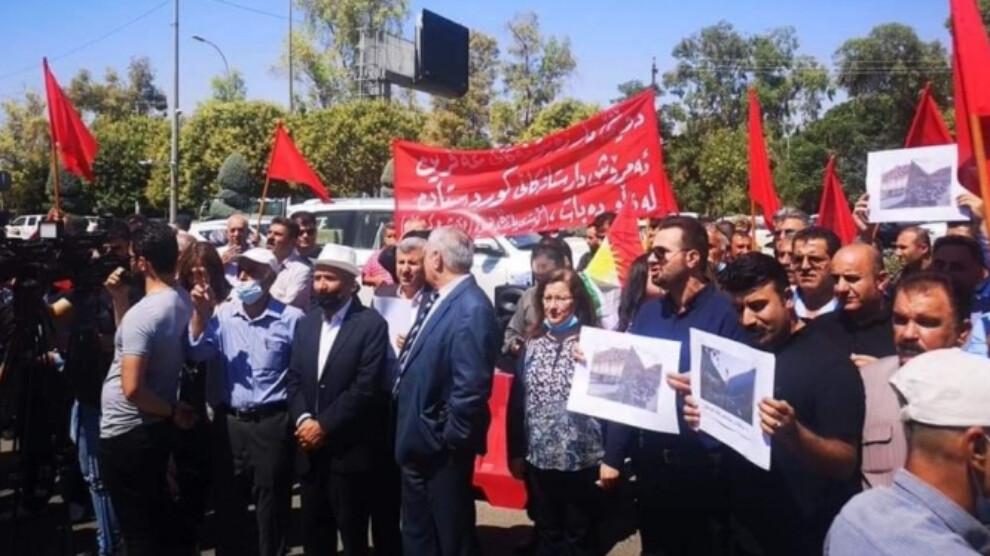 Photo of Բողոքի ակցիա Էրբիլում՝ ընդդեմ Թուրքիայի