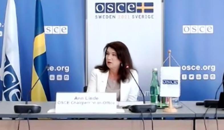 Photo of Призываю Азербайджан освободить пленных под эгидой ОБСЕ: Энн Линде