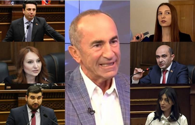 Photo of Ձեր առաջնորդը՝ Ռ. Քոչարյանը, նույն խեղճ, մեջքը ծուռ արարածն է, որ Տեր-Պետրոսյանին ասում էր՝ ալբանացի եմ. բանավեճ ԱԺ-ում