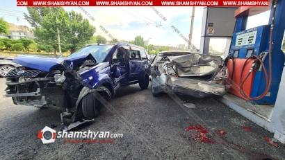 Photo of Մահվան ելքով ավտովթար-վրաերթ՝ Երևանում. Nissan XTrail-ը բախվել է լիցքավորվող Nissan-ին, ապա վրաերթի ենթարկել 1 հոգու. վիրավորներից մեկը հիվանդանոցի ճանապարհին մահացել է