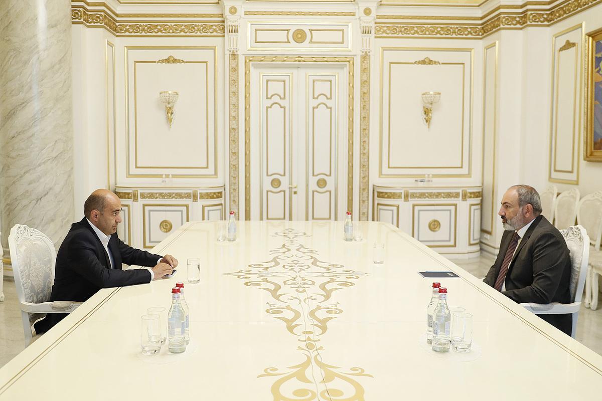 Photo of В рамках консультаций с внепарламентскими политическими силами Никол Пашинян провел встречу с Эдмоном Марукяном