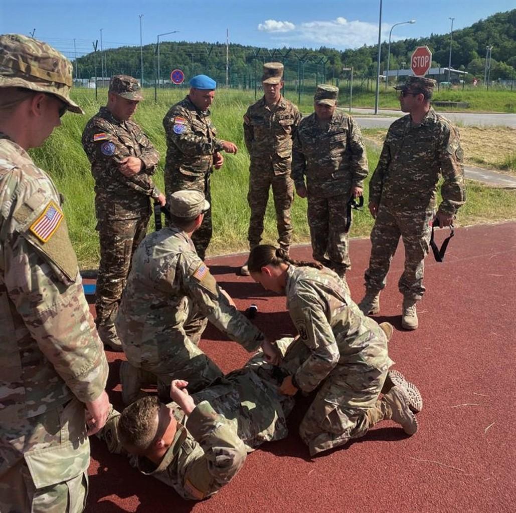 Photo of Армянские миротворцы приняли участие в учениях