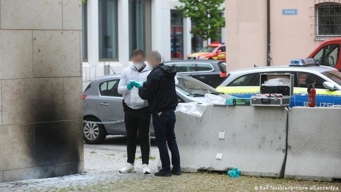 Photo of Полиция Ульма расследует поджог синагоги