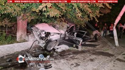 Photo of Ավտովթար Աբովյան քաղաքում․ Mercedes-ը Աբովյանի նախկին զինկոմիսարիատի մոտ տապալել է էլեկտրասյուները և հայտնվել կանգառում, կա վիրավոր
