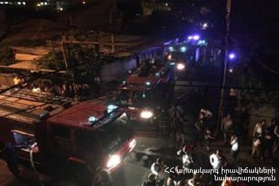 Photo of Մուրացան փողոցում բռնկված հրդեհը մարվել է