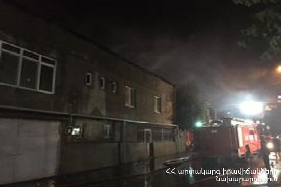 Photo of Վերին Չարբախում բռնկված հրդեհը մարվել է