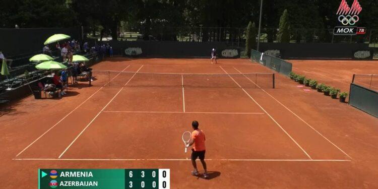Photo of Davis Cup․ Սեդրակ Խաչատրյանը վստահ հաղթանակ տարավ ադրբեջանցի թենիսիստի նկատմամբ