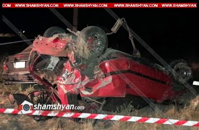 Photo of Խոշոր ավտովթար Կոտայքի մարզում. բախվել են Mercedes-ն ու Fiat-ը. վերջինս գլխիվայր շրջվել է. կա 7 վիրավոր