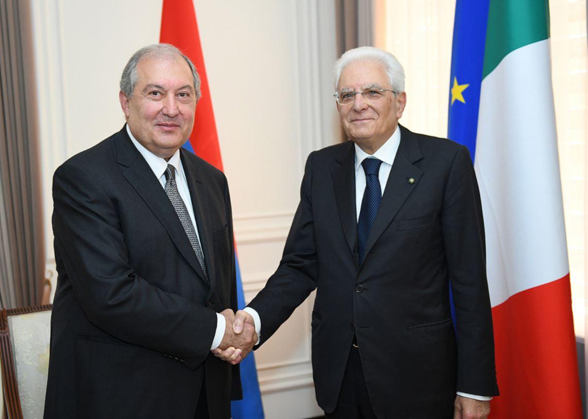 Photo of Армена Саркисяна с Днем рождения поздравил президент Италии Серджио Маттарелла