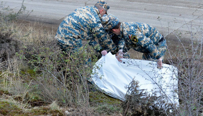 Photo of В районе Варанда обнаружены останки еще одного армянского военнослужащего