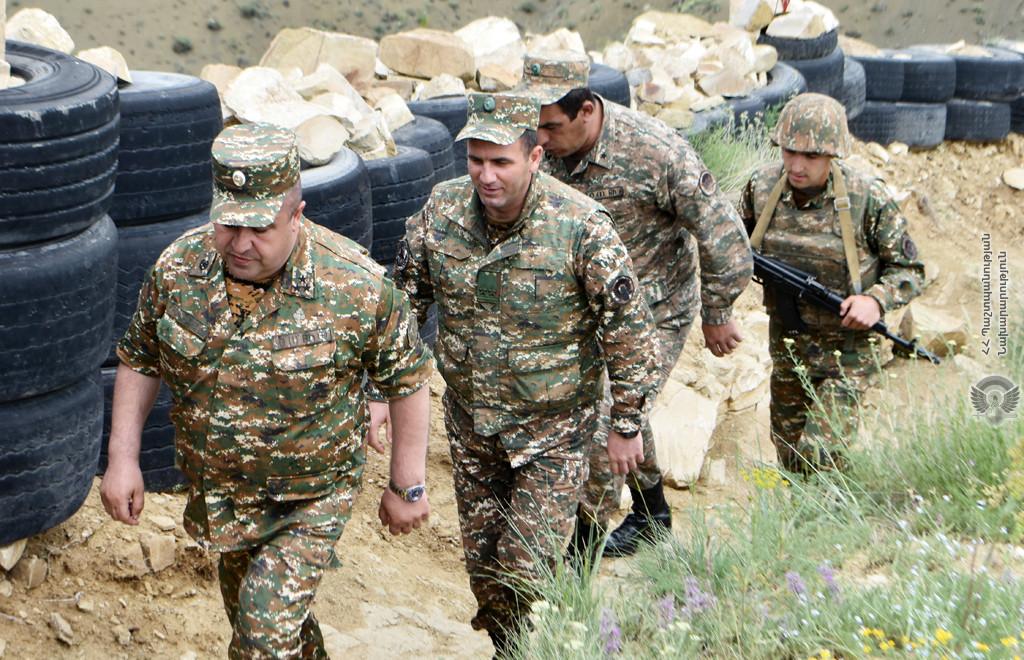 Photo of Ստուգայցեր են իրականացվել զորամասերից մեկի մարտական դիրքերում