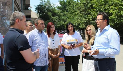 Photo of «Свободная родина» представила свою предвыборную программу в Араратской области