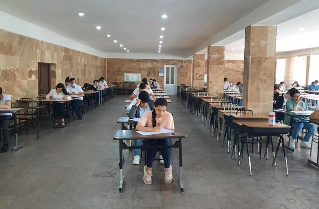 Photo of Անցկացվել է գերազանցության մեդալի քննություն «Մաթեմատիկա» առարկայից