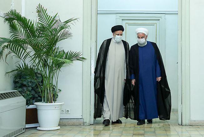Photo of Հասան Ռոհանին հանդիպել է Էբրահիմ Ռայիսիի հետ և շնորհավորել նրան