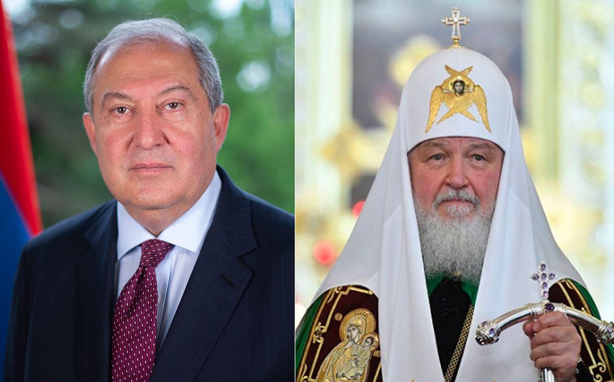 Photo of По случаю Дня рождения Армена Саркисяна поздравил Патриарх Московский и Всея Руси