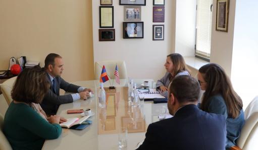 Photo of США подчеркивают важность динамичных усилий армянской диаспоры: посол Линн Трейси