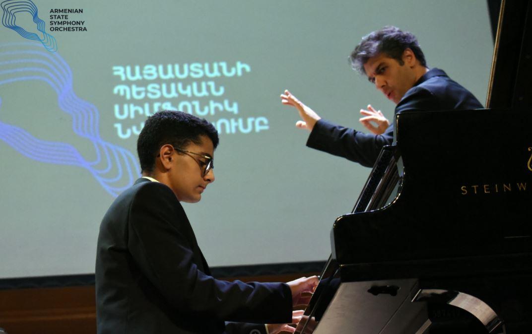 Photo of Էդվարդ Միրզոյանի և Բեթհովենի ստեղծագործությունների կատարմամբ Հայաստանի պետական սիմֆոնիկ նվագախումբն ամփոփեց 15-րդ համերգաշրջանը