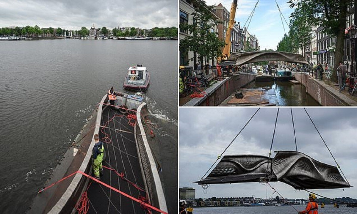 Photo of В Амстердаме открыли первый в мире 3D-мост