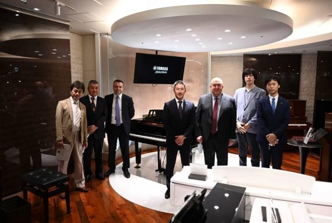 Photo of Президент обсудил с представителями YAMAHA сотрудничество в сфере AI-технологий