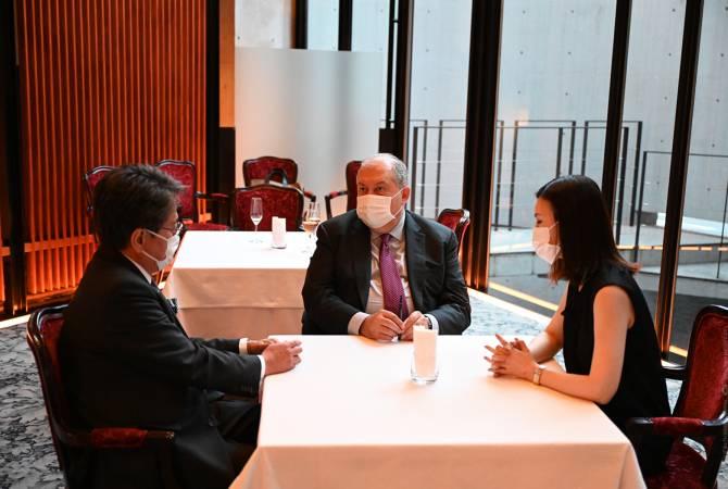 Photo of Президент Армении и глава Японского банка для международного сотрудничества обсудил вопросы сотрудничества