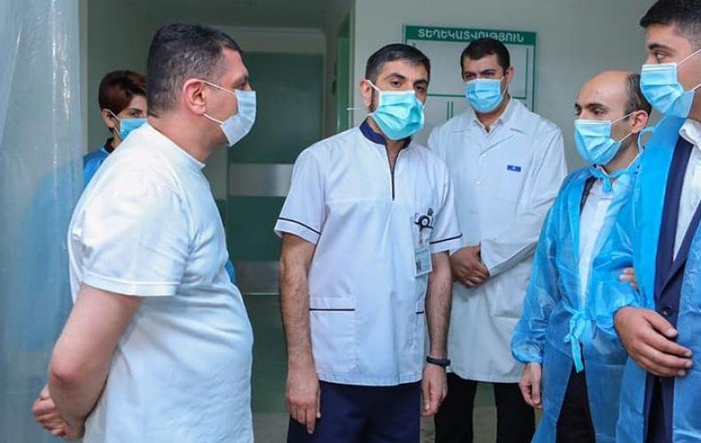 Photo of Արցախի պետնախարարը շրջայց է կատարել Հանրապետական բժշկական կենտրոնում