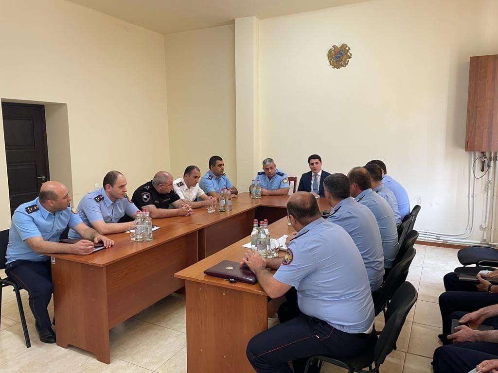 Photo of ՀՀ քննչական կոմիտեի նախագահն աշխատանքային այցով Սյունիքում է