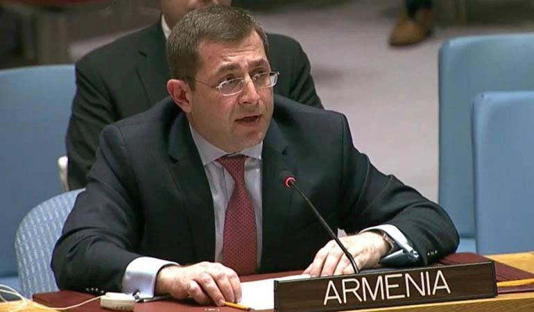 Photo of ՀՀ մշտական ներկայացուցչի նամակը՝ հասցեագրված ՄԱԿ Անվտանգության խորհրդի նախագահին