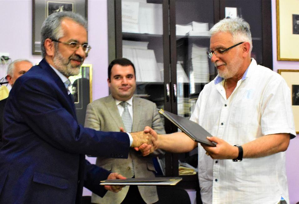 Photo of Հայաստանի գեղարվեստի պետական և Իրանի արվեստների ակադեմիաները գործընկերության հուշագիր են ստորագրել